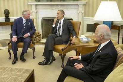 Joe Biden met Prince Charles.