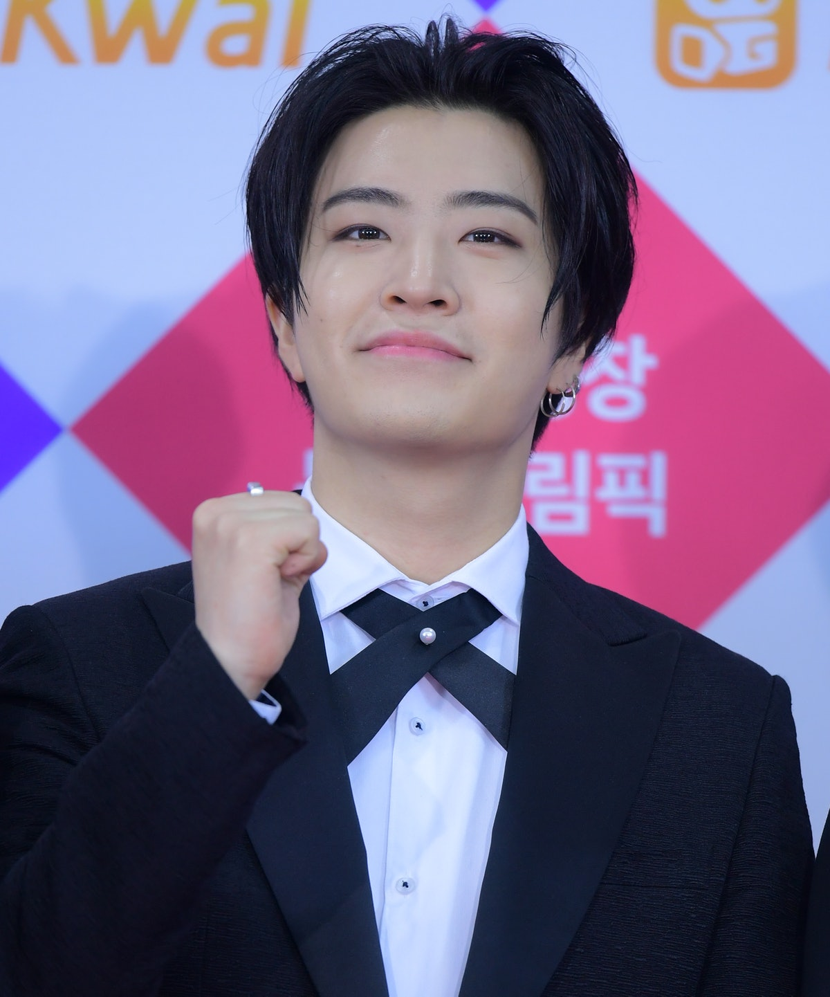 SEOUL, SOUTH KOREA - DECEMBER 25: Youngjae of GOT7 attends the 2017 SBS Gayo Daejeon at Gocheok Sky Dome on December 25, 2017 in Seoul, South Korea. (Photo by The Chosunilbo JNS/Imazins via Getty Images)