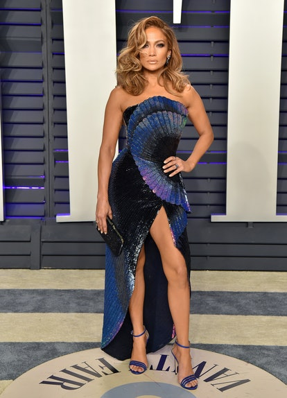 BEVERLY HILLS, CALIFORNIA - FEBRUARY 24: Jennifer Lopez attends the 2019 Vanity Fair Oscar Party Hosted By Radhika Jones at Wallis Annenberg Center for the Performing Arts on February 24, 2019 in Beverly Hills, California. (Photo by Axelle/Bauer-Griffin/FilmMagic)