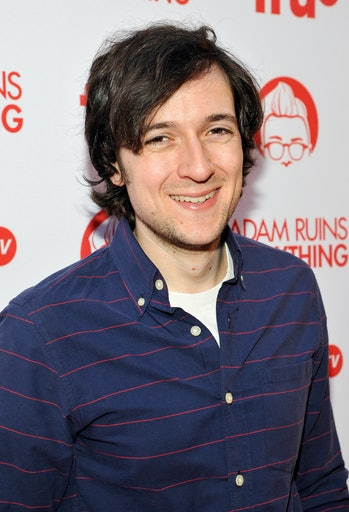 """HOLLYWOOD, CA - AUGUST 18:  Actor Josh Brener attends truTV's """"Adam Ruins Everything"""" Premiere Scree..."""