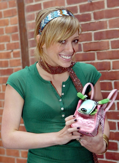 (EDITORIAL USE ONLY)    Hilary Duff during Hilary Duff Visits Toy Maker Hasbro's Global Headquarters - July 25, 2005 at the Hasbro Global Headquarters in Pawtucket, Rhode Island.  (Photo by Joe Giblin/WireImage)