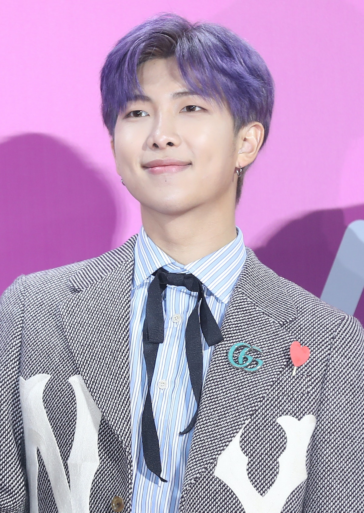 SEOUL, SOUTH KOREA - DECEMBER 01: RM of BTS attends the 2018 Melon Music Awards at Gocheok Sky Dome on December 01, 2018 in Seoul, South Korea. (Photo by JTBC PLUS/Imazins via Getty Images)