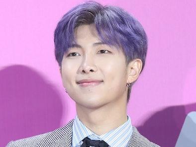 SEOUL, SOUTH KOREA - DECEMBER 01: RM of BTS attends the 2018 Melon Music Awards at Gocheok Sky Dome ...