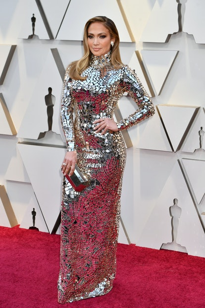 HOLLYWOOD, CA - FEBRUARY Jennifer Lopez attends the 91st Annual Academy Awards at Hollywood and Highland on February 24, 2019 in Hollywood, California.  (Photo by Jeff Kravitz/FilmMagic)