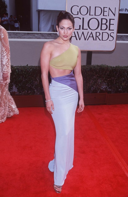 Jennifer Lopez at the Beverly Hilton Hotel in Beverly Hills, California (Photo by Jeffrey Mayer/WireImage)
