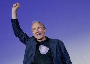 MILAN, ITALY - JULY 25: Sir. Tim Berners-Lee attends the Campus Party Italia 2019 as Keynote Speaker...
