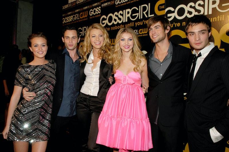 TThe original 'Gossip Girl' cast attends the Season 1 premiere on September 18, 2007 in New York Cit...