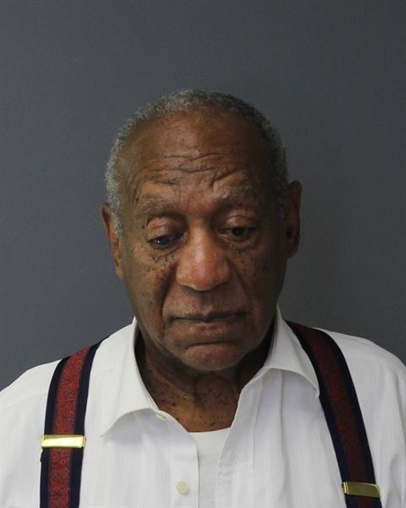 Photo of Bill Cosby, who will be released from prison, from the Montgomery County Correctional Facil...