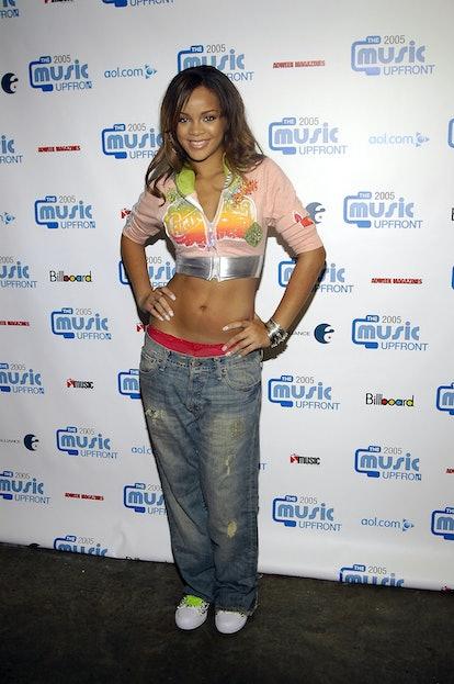 NEW YORK - SEPTEMBER 13:  Singer Rihanna attends the second annual Music UpFront Event September 13,...