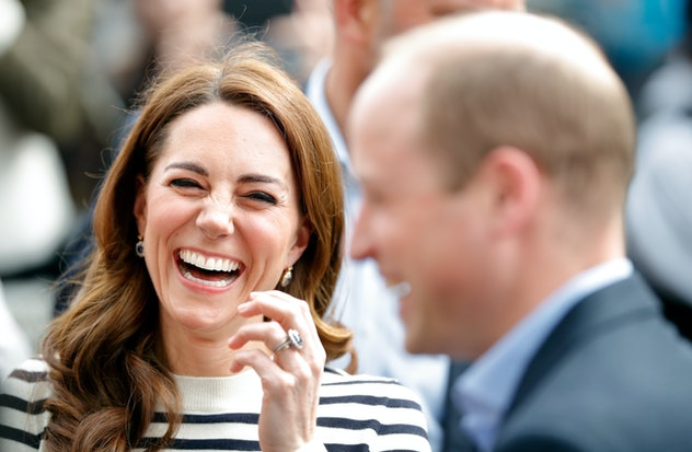 Kate Middleton and Prince William at the 2019 King's Cup Regatta.