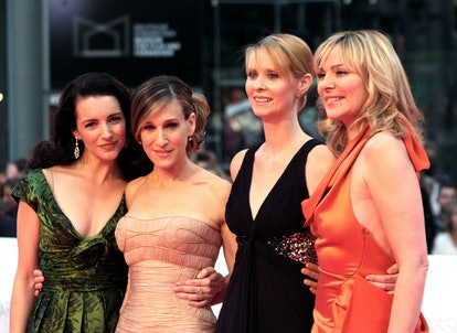 'Sex And The City' actors Kristin Davis, Sarah Jessica Parker, Cynthia Nixon, and Kim Catrall. (Photo by Anita Bugge/WireImage)