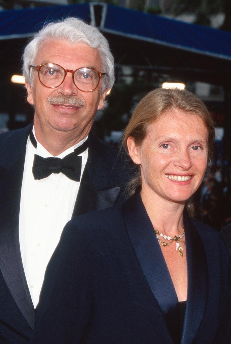 Daniel Toscan du Plantier and Sophie Toscan du Plantier attend «Breaking the Waves» Premiere durin...