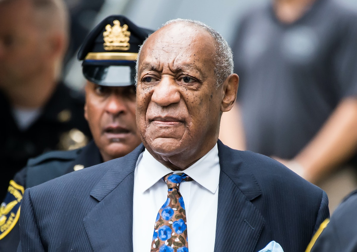 NORRISTOWN, PA - SEPTEMBER 24:  Actor/stand-up comedian Bill Cosby arrives for sentencing for his se...