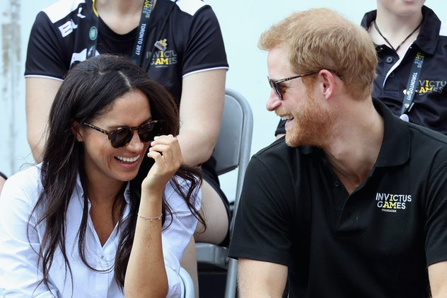 Meghan Markle and Prince Harry at the 2017 Invictus Games in Toronto.