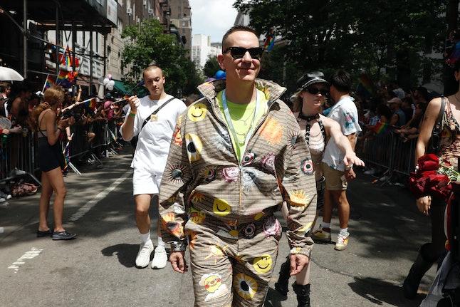 NEW YORK, NEW YORK - JUNE 27: Jeremy Scott attends New York City Pride on June 27, 2021 in New York ...