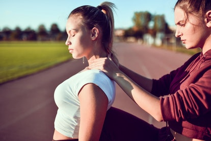 Experts give tips for how to give a massage, like starting with your partner's shoulders.