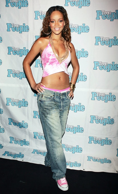 WEST HOLLYWOOD, CA - JULY 14:  Roc-A-Fella recording artist Rihanna is featured at the Teen People L...