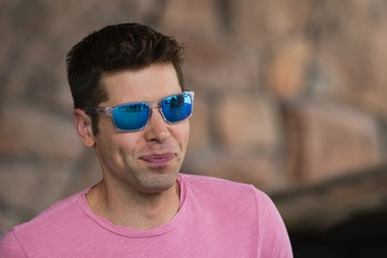 SUN VALLEY, ID - JULY 10: Sam Altman, president of Y Combinator and founder of political initiative ...