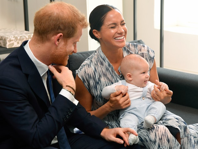 Prince Harry, Duke of Sussex, Meghan, Duchess of Sussex and their baby son Archie.