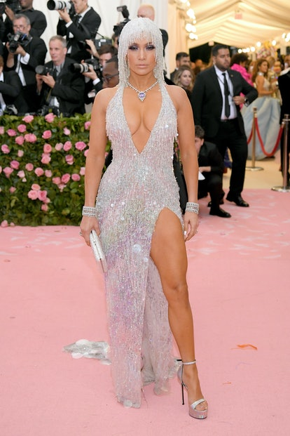 NEW YORK, NEW YORK - MAY 06: Jennifer Lopez attends The 2019 Met Gala Celebrating Camp: Notes on Fashion at Metropolitan Museum of Art on May 06, 2019 in New York City. (Photo by Neilson Barnard/Getty Images)