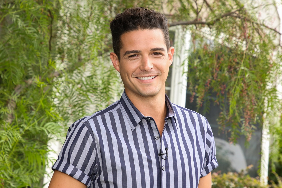 """UNIVERSAL CITY, CALIFORNIA - SEPTEMBER 26: Reality TV Personality Wells Adams visits Hallmark Channel's """"Home & Family"""" at Universal Studios Hollywood on September 26, 2019 in Universal City, California. (Photo by Paul Archuleta/Getty Images)"""