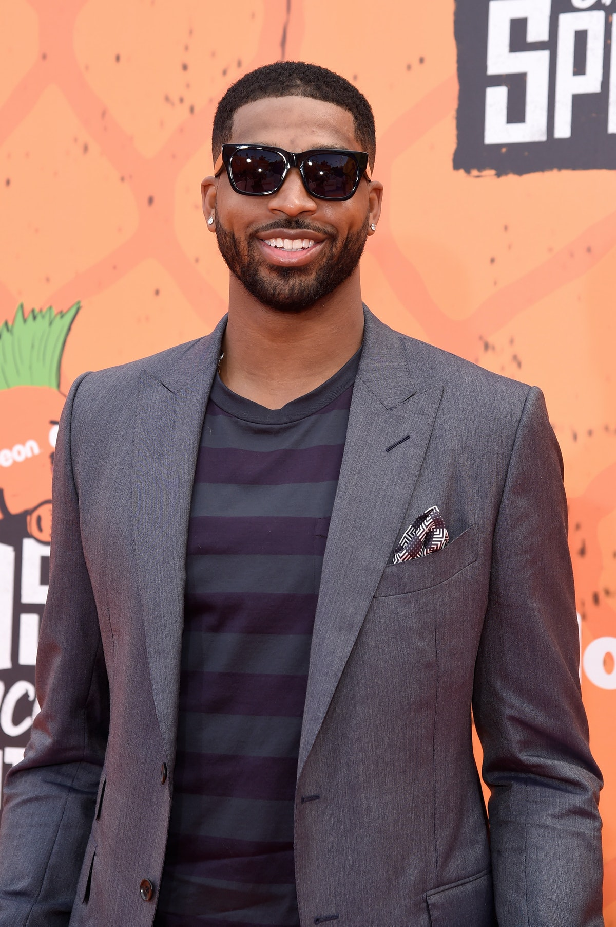 WESTWOOD, CA - JULY 14:  NBA player Tristan Thompson attends the Nickelodeon Kids' Choice Sports Awards 2016 at UCLA's Pauley Pavilion on July 14, 2016 in Westwood, California.  (Photo by Kevin Mazur/WireImage)