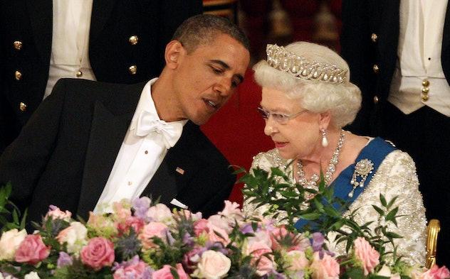 President Obama came back for a visit in 2011.