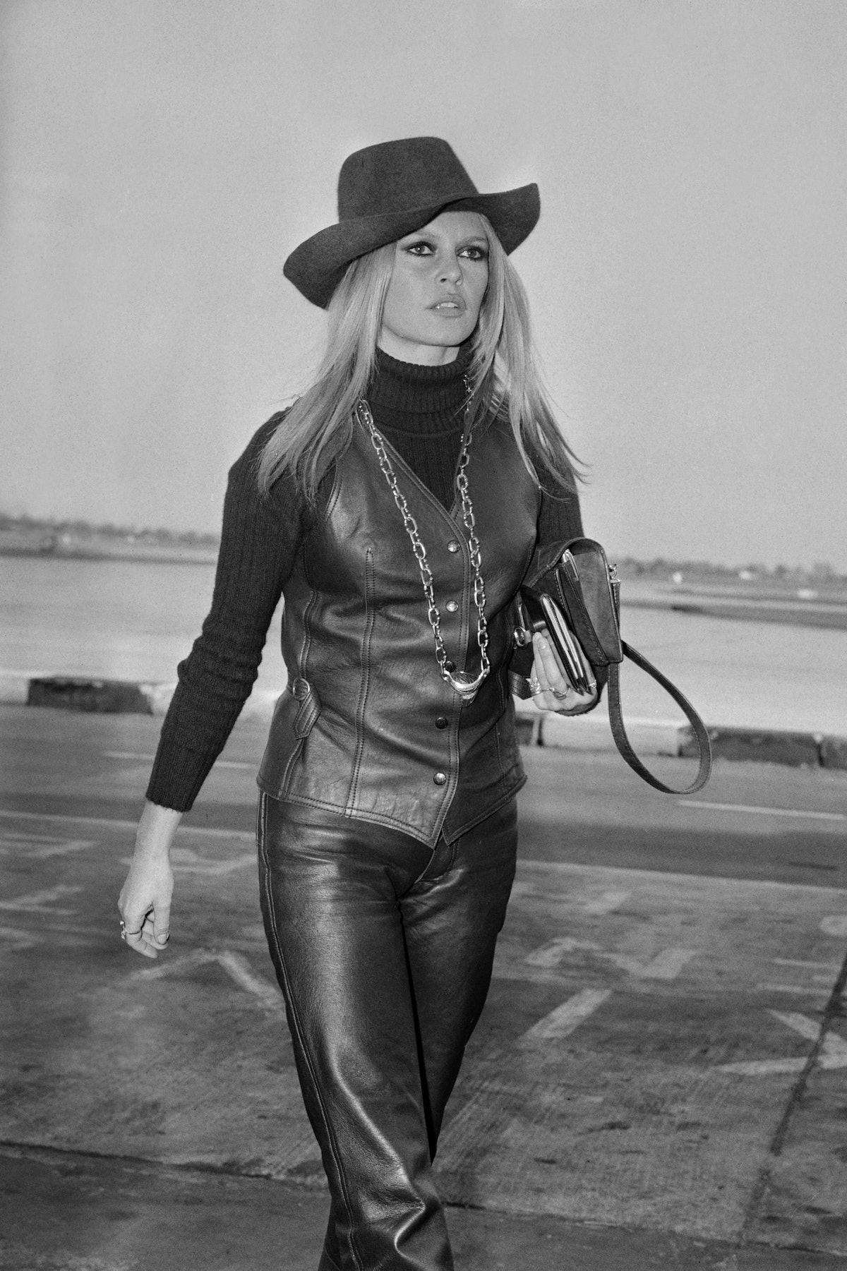 French actress, singer and fashion model Brigitte Bardot