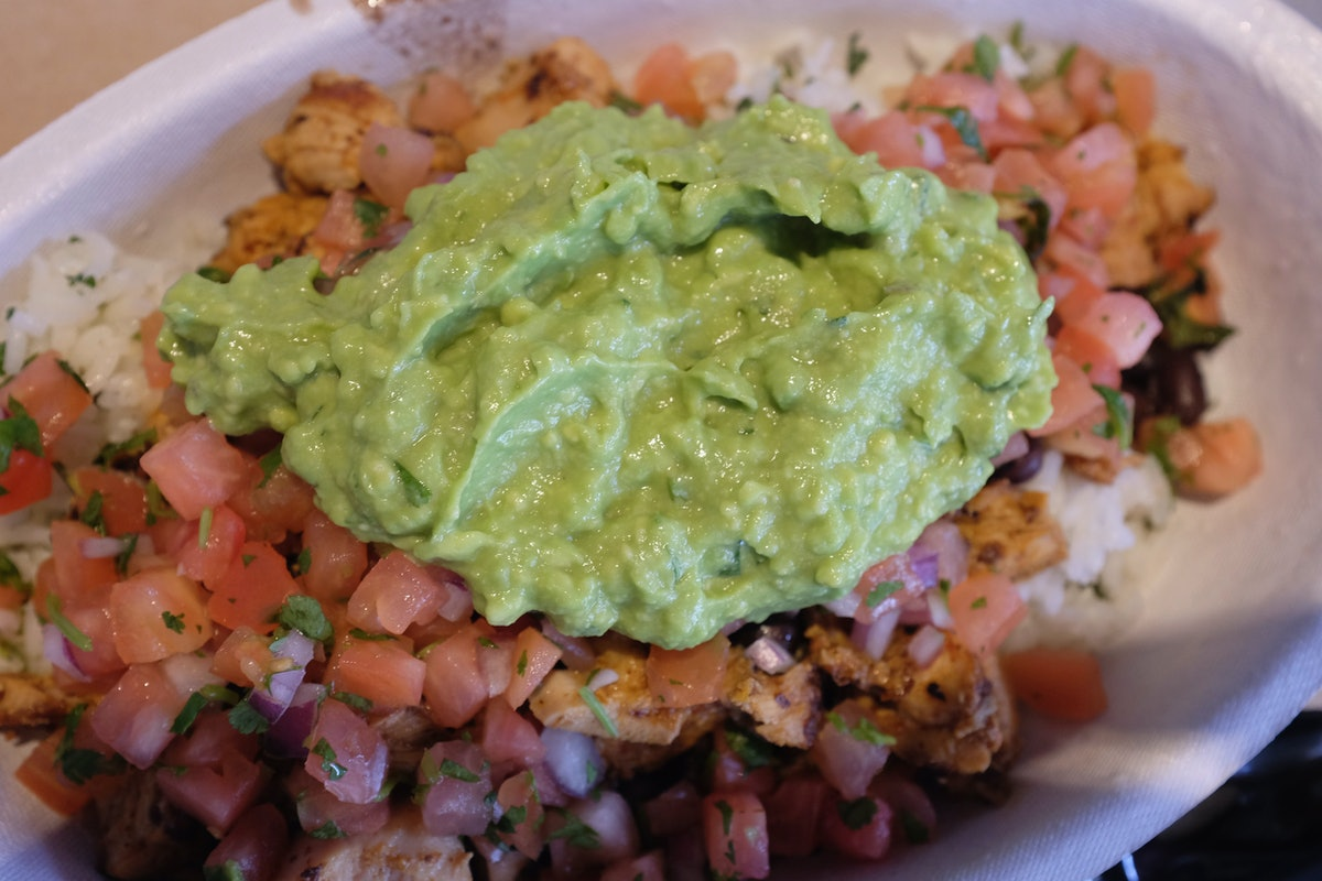 Chipotle's free guac with Uber Eats Deal in June 2021 is a treat.