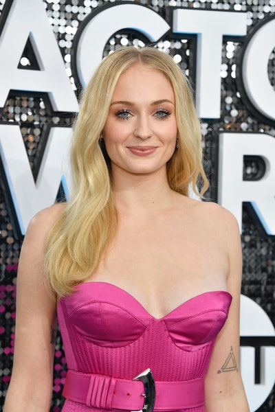 LOS ANGELES, CALIFORNIA - JANUARY 19: Sophie Turner attends the 26th Annual Screen ActorsGuild Awards at The Shrine Auditorium on January 19, 2020 in Los Angeles, California. (Photo by Frazer Harrison/Getty Images)