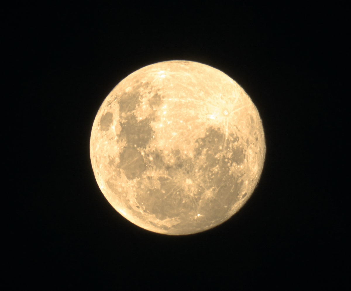Full moon in particular zodiac sign to show when you'll have vivid dreams.