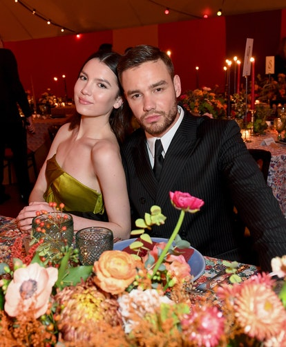 OXFORDSHIRE, ENGLAND - NOVEMBER 22: Liam Payne and Maya Henry attend the gala dinner in honour of Edward Enninful, winner of the Global VOICES Award 2019, during #BoFVOICES on November 22, 2019 in Oxfordshire, England. (Photo by Samir Hussein/Samir Hussein/Getty Images for The Business of Fashion)
