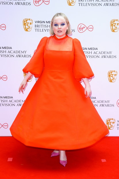 LONDON, ENGLAND - JUNE 06: Nicola Coughlan attends the Virgin Media British Academy Television Awards 2021 at Television Centre on June 06, 2021 in London, England. (Photo by Tim P. Whitby/Getty Images)