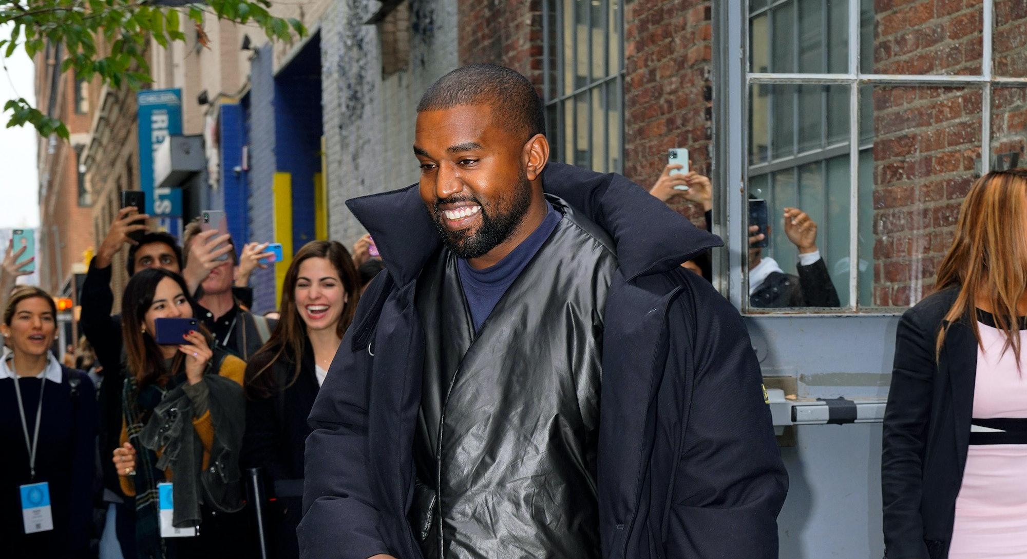 NEW YORK, NEW YORK - NOVEMBER 07: Kim Kardashian and Kanye West at  on November 07, 2019 in New York...