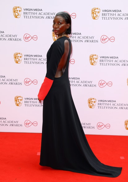 LONDON, ENGLAND - JUNE 06: Michaela Coel attends the Virgin Media British Academy Television Awards 2021 at Television Centre on June 06, 2021 in London, England. (Photo by Tim P. Whitby/Getty Images)
