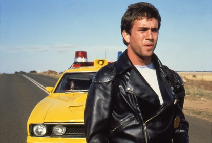 Mel Gibson on the set of Mad Max. (Photo by Sunset Boulevard/Corbis via Getty Images)