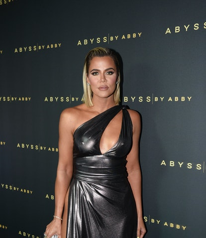 LOS ANGELES, CA - JANUARY 21:  Khloe Kardashian attends Abyss By Abby - Arabian Nights Collection La...