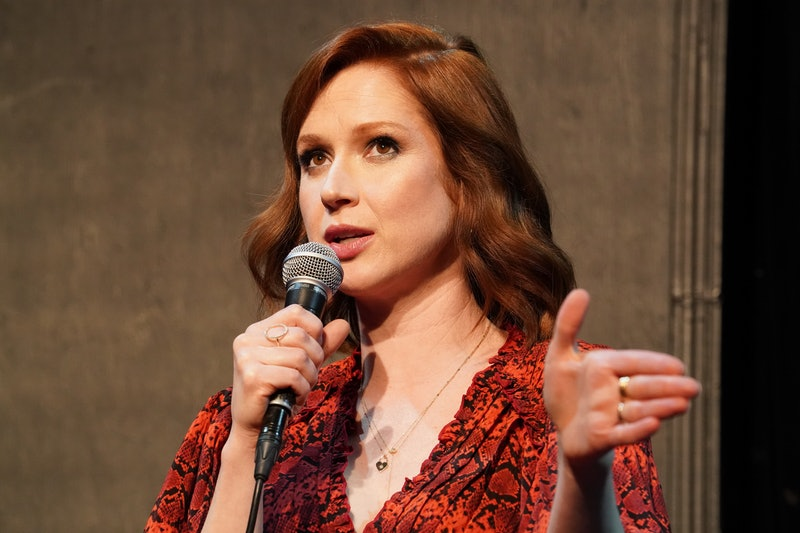 """LOS ANGELES, CALIFORNIA - MAY 29: Ellie Kemper participates in Universal Television's FYC """"Unbreakable Kimmy Schmidt"""" panel at UCB Sunset Theater on May 29, 2019 in Los Angeles, California. (Photo by Rachel Luna/Getty Images)"""