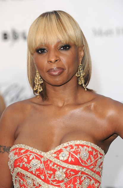 Mary J. Blige wore a chic bob at the 61st International Cannes Film Festival.