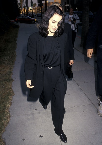 Winona Ryder at the Backdraft premiere in 1991.