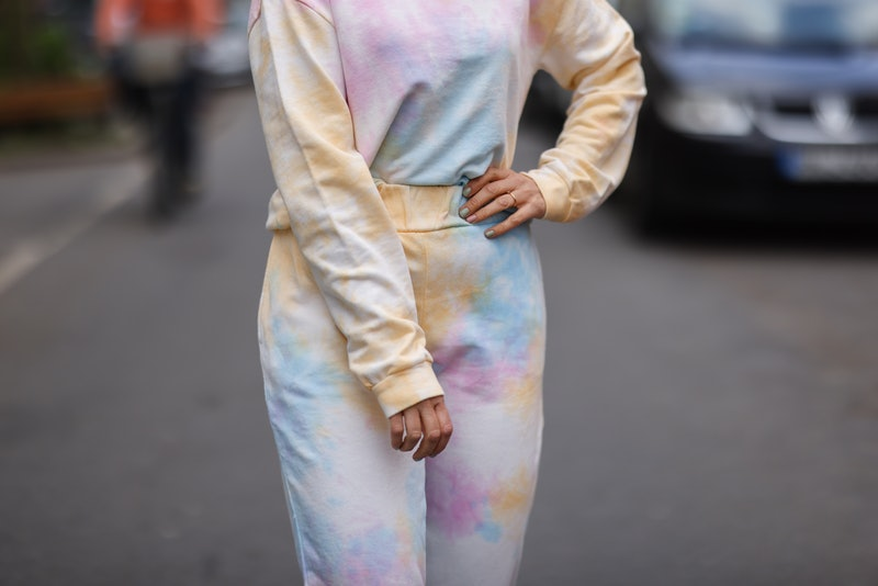 What will happen to the tie-dye sweatsuit trend now that quarantine is ending?