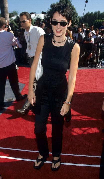 Winona Ryder at the 1998 MTV Movie Awards.