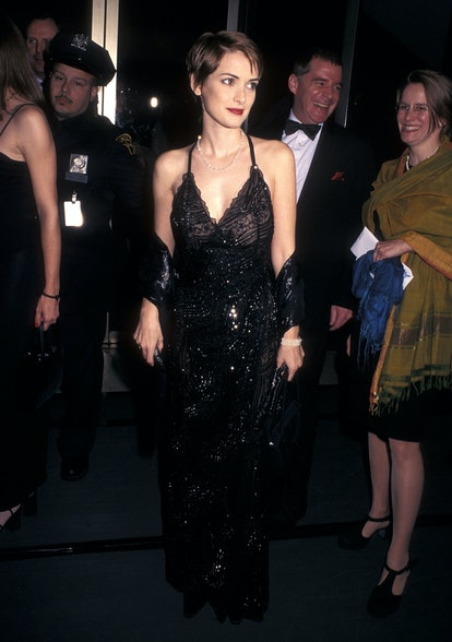 Winona Ryder at the Film Society of Lincoln Center Honors Martin Scorsese event in 1998.