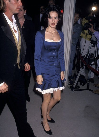 Winona Ryder at the Dracula premiere in 1992.