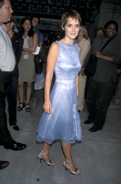 Winona Ryder at the premiere of Smoke Signals in 1998.