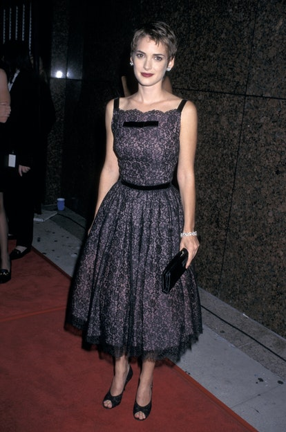 Winona Ryder at the 1997 American Movie Classics Film Preservation Festival.