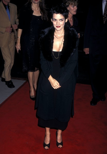 Winona Ryder at The Crucible  premiere in 1996.