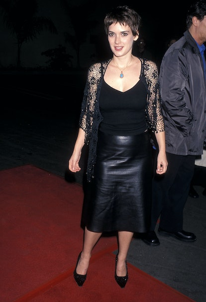 Winona Ryder at the Girl, Interrupted premiere of 1999.