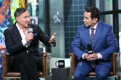 Plastic surgeons and television personalities Dr. Terry Dubrow (L) and Dr. Paul Nassif (R) had to film the new season of 'Botched' in the midst of the pandemic.