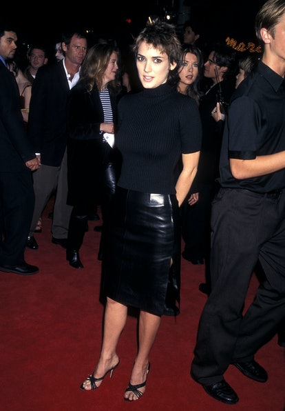 Winona Ryder at the Alien: Resurrection premiere in 1997.